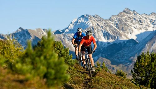 an experience for bike enthusiasts, already from our campsite on